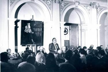 Учредительное собрание Советского Фонда Рерихов. 1989 г.