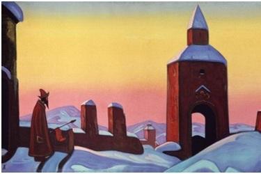 Образ святого воина на картине Н.К.Рериха «Победа»