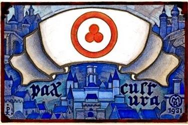 В 1931 году в Брюгге созывается первая Международная конференция Пакта Рериха
