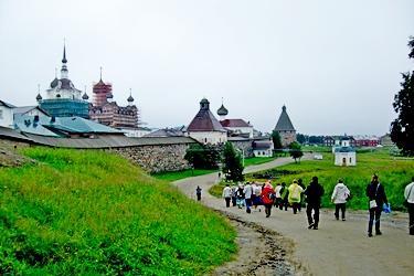 Соловецкий монастырь - крепость и храм