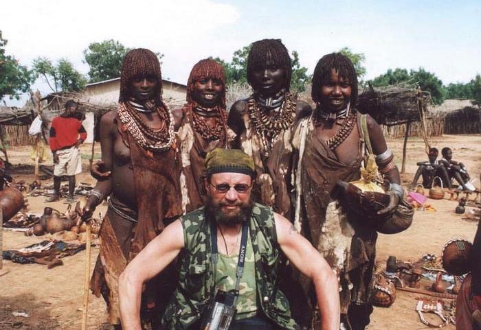 Девушки из диких племен